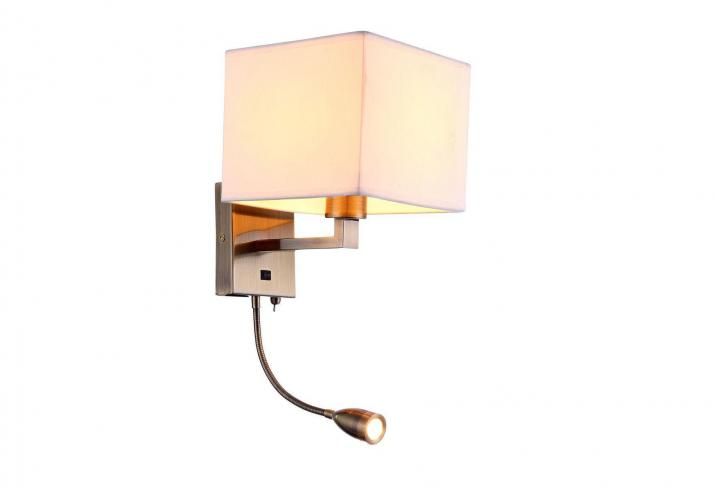 Бра Arte Lamp Hall A9249AP-2AB
